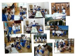 2年生の交流教室(楽しく過ごしました)\
