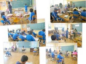 各教室では、まさに「学習の秋」\\\