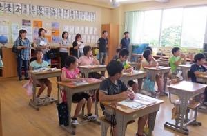 授業参観5年生「ぴったり重なる図形」\