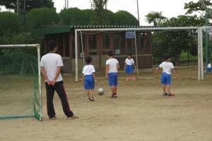越川先生が一緒に遊んでくれました。\\\\