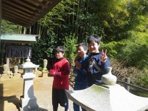 剣道部に入るのはこの子達なのでしょうか。\
