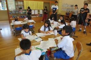パーソナルワーク・グループワークと児童主体の授業が展開されました。\