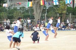 4・5・6年生 組体操