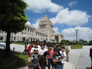 高学年は、上野動物園から国会議事堂へ